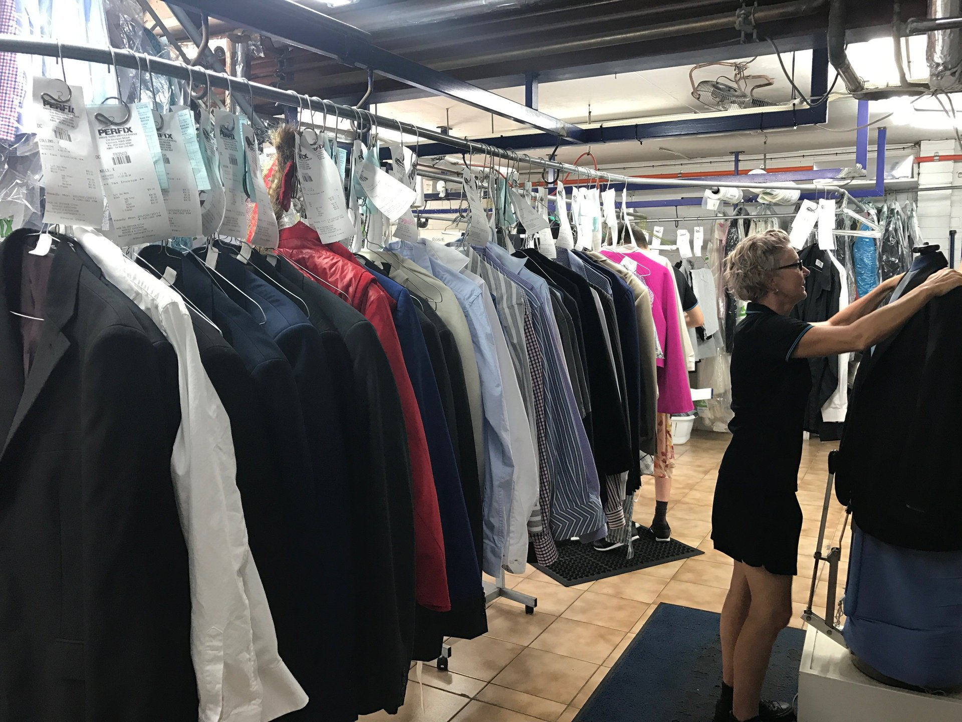 Pressing - Perfix Drycleaners Lismore