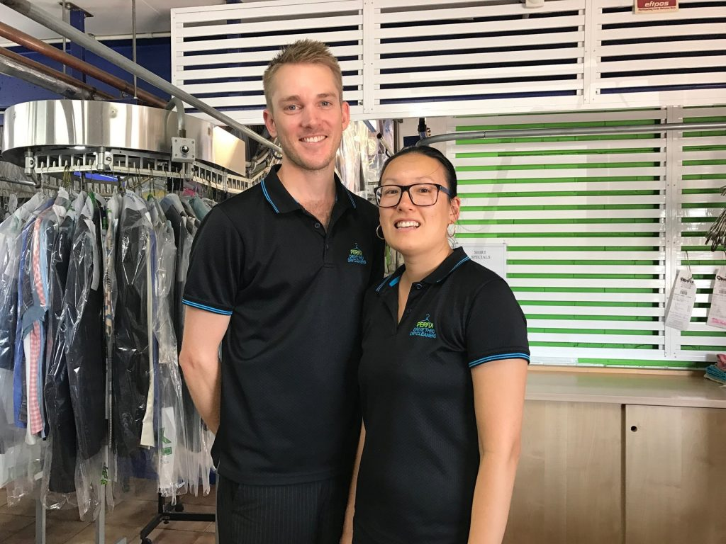 Lachlan & Jessie - Perfix Drycleaners Lismore
